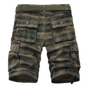West Louis™ Fashion Plaid Shorts  - West Louis