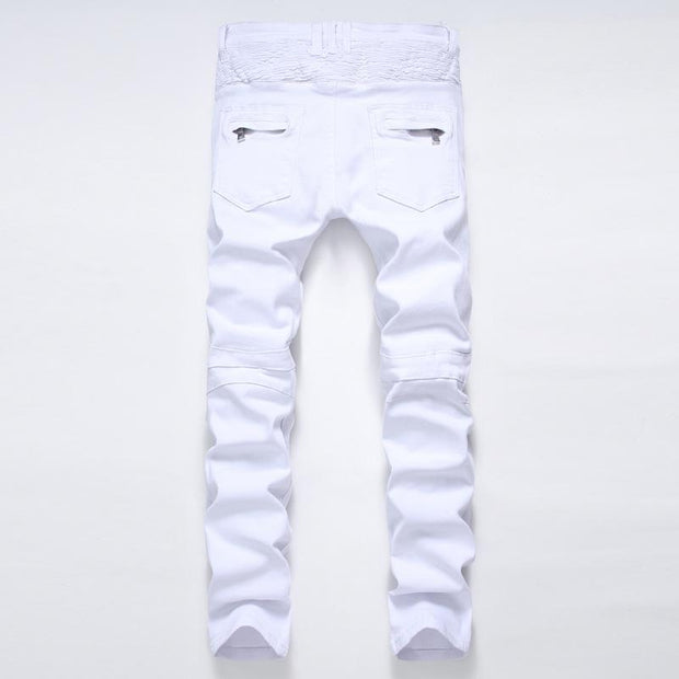 West Louis™ High Quality Brand Jeans  - West Louis