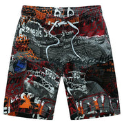 West Louis™ Quick Dry Printing Board Shorts Brown / M - West Louis