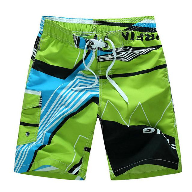 West Louis™ Quick Dry Printing Board Shorts Lime / M - West Louis