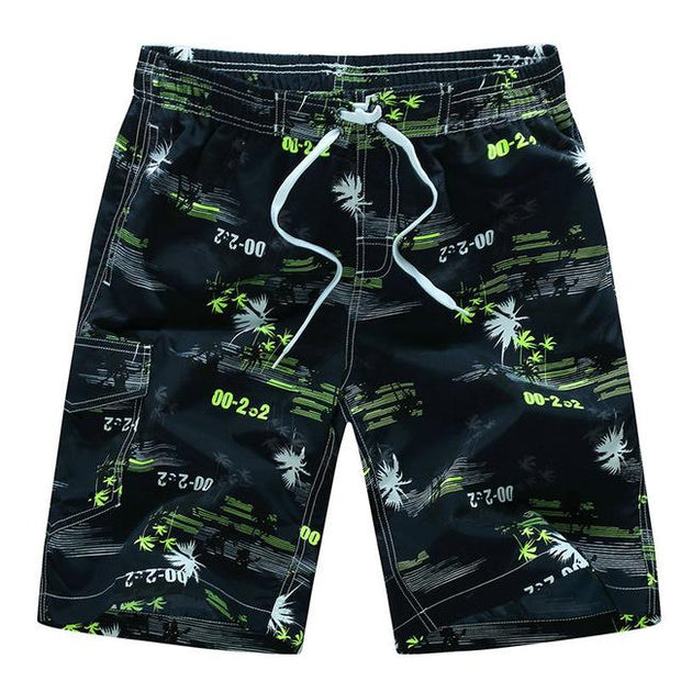 West Louis™ Quick Dry Printing Board Shorts Dark Green / M - West Louis