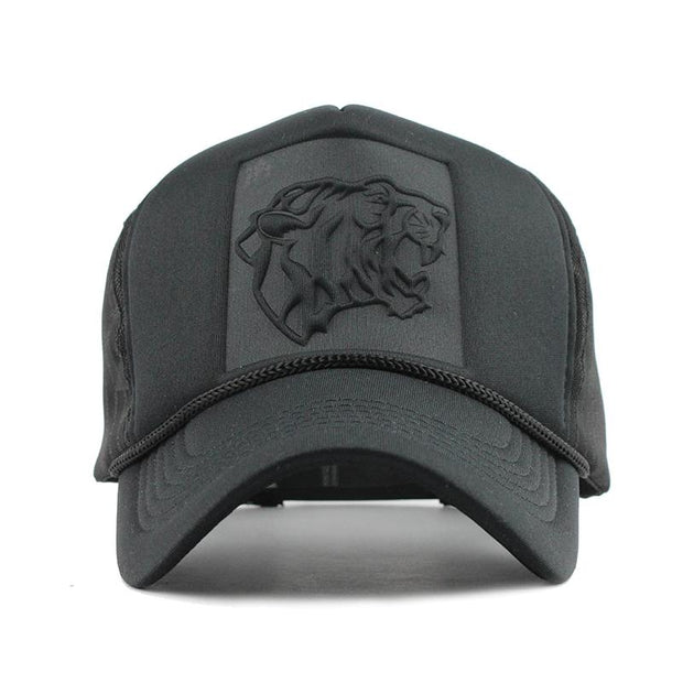 West Louis™ Leopard Print Curved Baseball Cap  - West Louis
