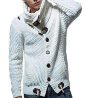 West Louis™ Fashion Knitting Sweater White / L - West Louis