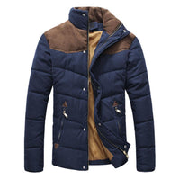 West Louis™  Banded Collar Padded Down Jacket  - West Louis
