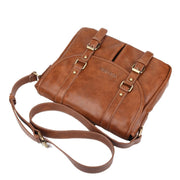 West Louis™ Brand Leather Briefcase