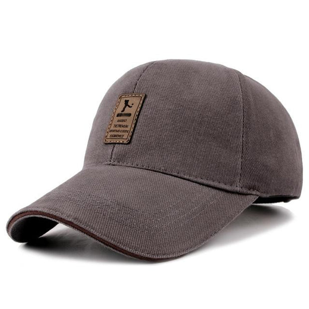 West Louis™ Cotton Casual Golf Hat Gray - West Louis