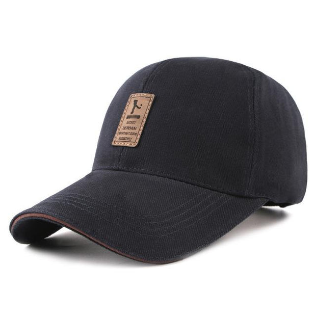 West Louis™ Cotton Casual Golf Hat Dark Blue - West Louis