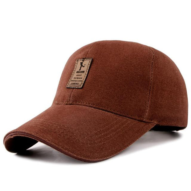 West Louis™ Cotton Casual Golf Hat Coffee - West Louis