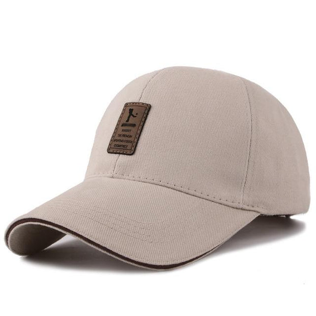 West Louis™ Cotton Casual Golf Hat Beige - West Louis
