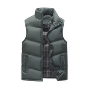 West Louis™ Brand Winter Cotton-Padded Vest