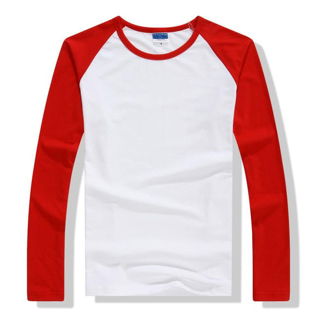 West Louis™ Summer Long Sleeve T Shirt Red / XS - West Louis
