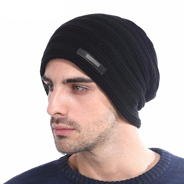 West Louis™ Baggy Solid Beanie  - West Louis