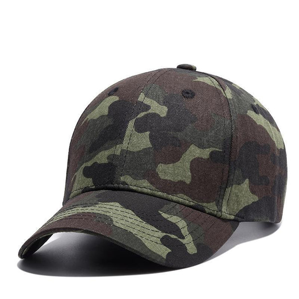 West Louis™ Army Green Camouflage Baseball Cap