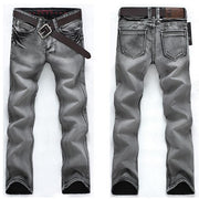 West Louis™ High Elasticity Loose Jeans Gray / 29 - West Louis