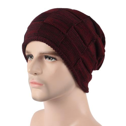 West Louis™ Winter Cap wine red - West Louis
