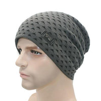 West Louis™ Baggy Beanie gray - West Louis