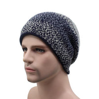 West Louis™ Thicken Wool Beanie navy - West Louis