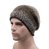 West Louis™ Thicken Wool Beanie coffee - West Louis