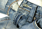 West Louis™ Famous Designer Cotton Jeans  - West Louis