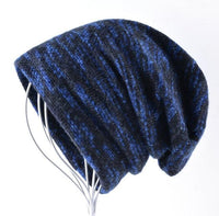 West Louis™ Knitted Wool Beanie Blue - West Louis