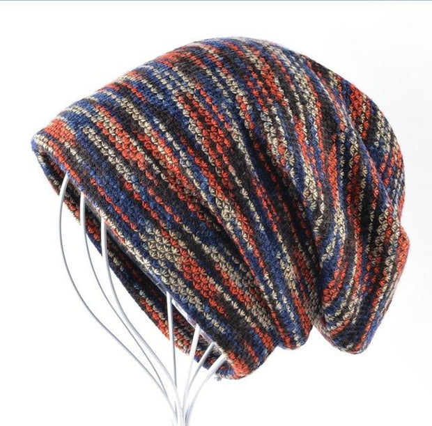 West Louis™ Knitted Wool Beanie Red - West Louis