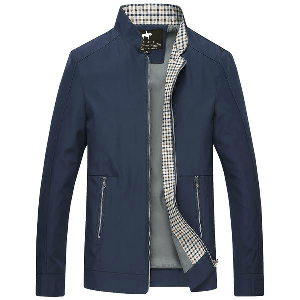 West Louis™ Business-Man Spring Jacket Navy Blue / S - West Louis