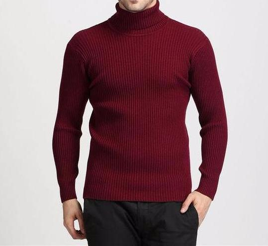 West Louis™ Winter Thick Warm 100% Cashmere Sweater Red / S - West Louis