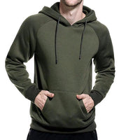 West Louis™ Casual Solid Hoodie  - West Louis