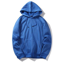 West Louis™ Casual Solid Hoodie Sky Blue / S - West Louis