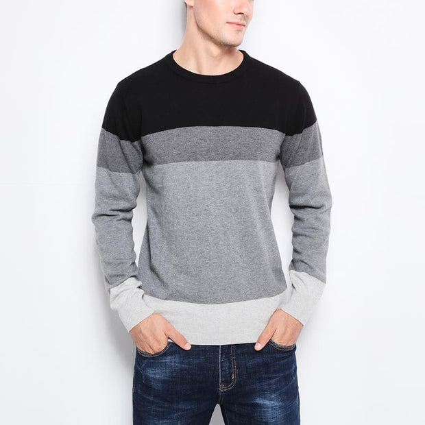 West Louis™ Casual O-Neck Sweater Pullover  - West Louis