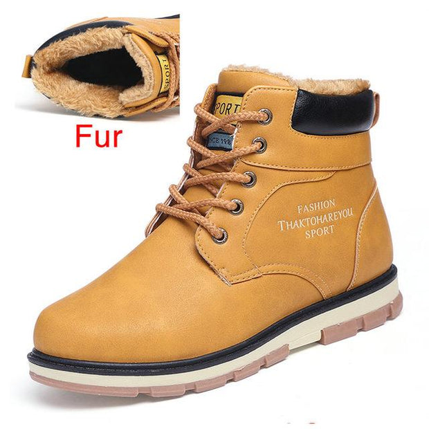 West Louis™ High Quality Warm Winter Boots Fur Yellow / 7 - West Louis