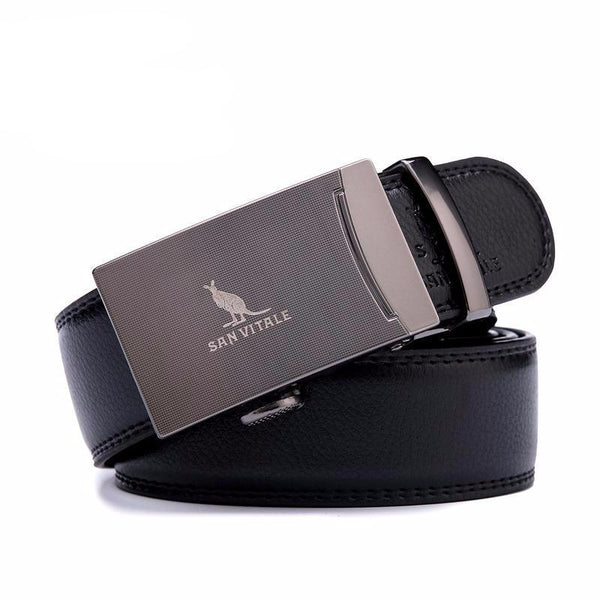 West Louis™ Genuine Leather Luxury Strap Male