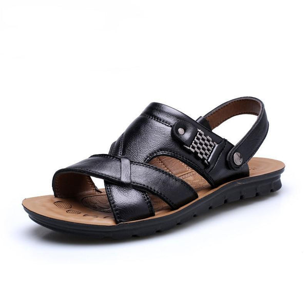 West Louis™ Air/Soft Flip Flops Elastic Sandals Black / 7 - West Louis