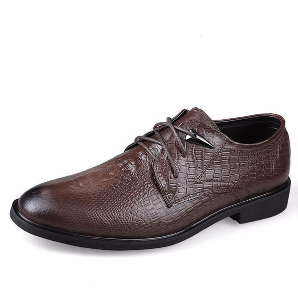 West Louis™ Genuine Leather Formal Shoes