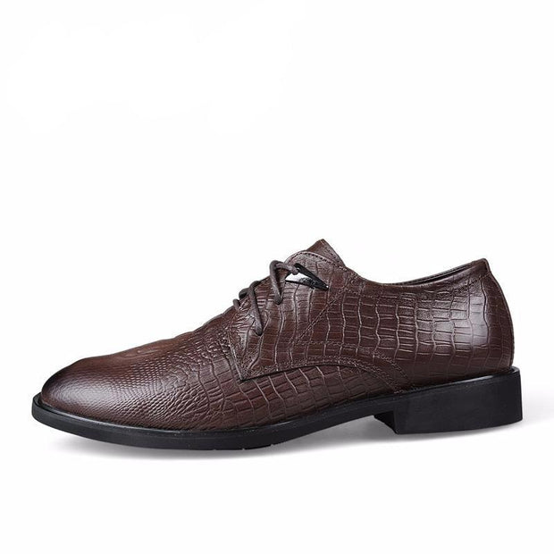West Louis™ Genuine Leather Formal Shoes  - West Louis