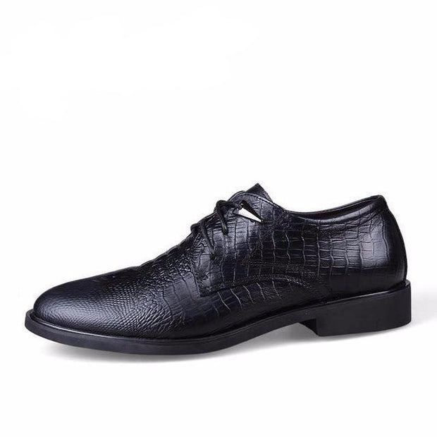West Louis™ Genuine Leather Formal Shoes Black / 10 - West Louis