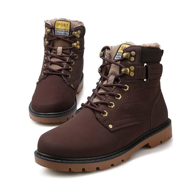 West Louis™  Warmest Desert Tactical Boots Brown / 7 - West Louis