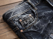 West Louis™  Vintage Hip Hop Jeans  - West Louis