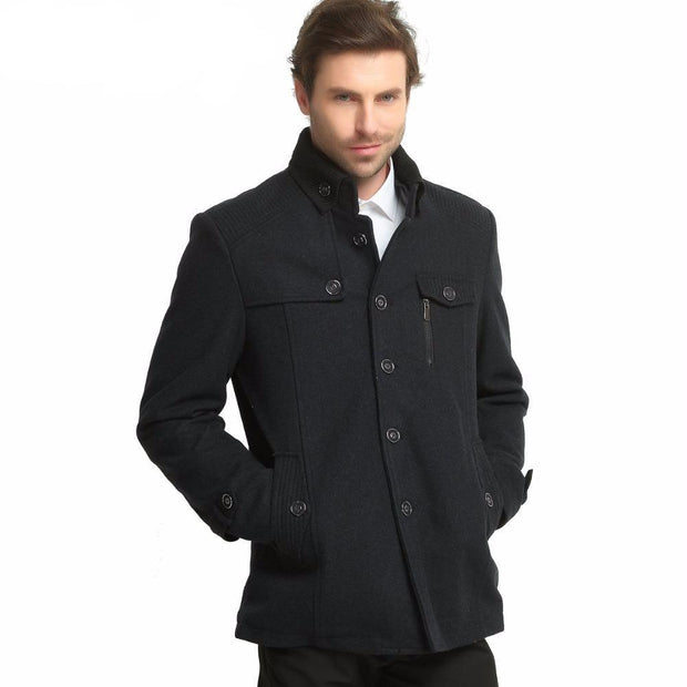 West Louis™ Morality Fashionable Wool Coat  - West Louis