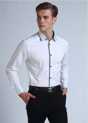 West Louis™ Top Quality Slim Fit Cotton Shirts  - West Louis