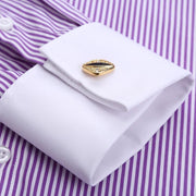 West Louis™ French Cufflinks Shirts  - West Louis