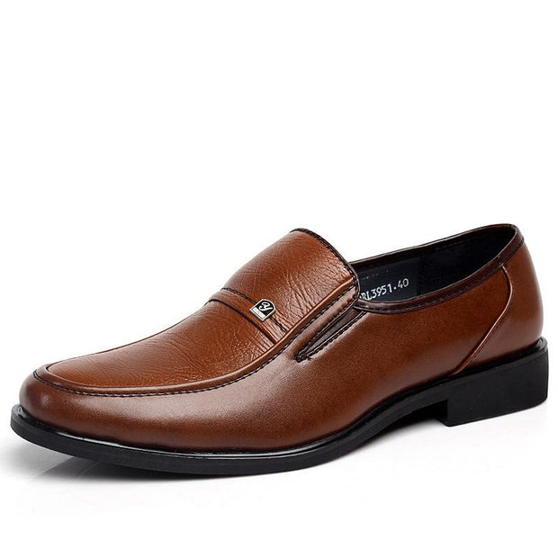 West Louis™ Business Leather Shoes Oxfords Shoes brown / 6 - West Louis