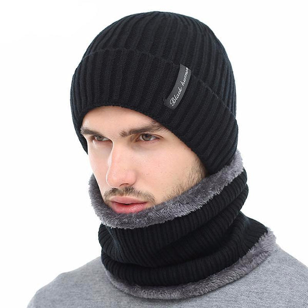 West Louis™ Warm Bonnet + Neck Warmer  - West Louis