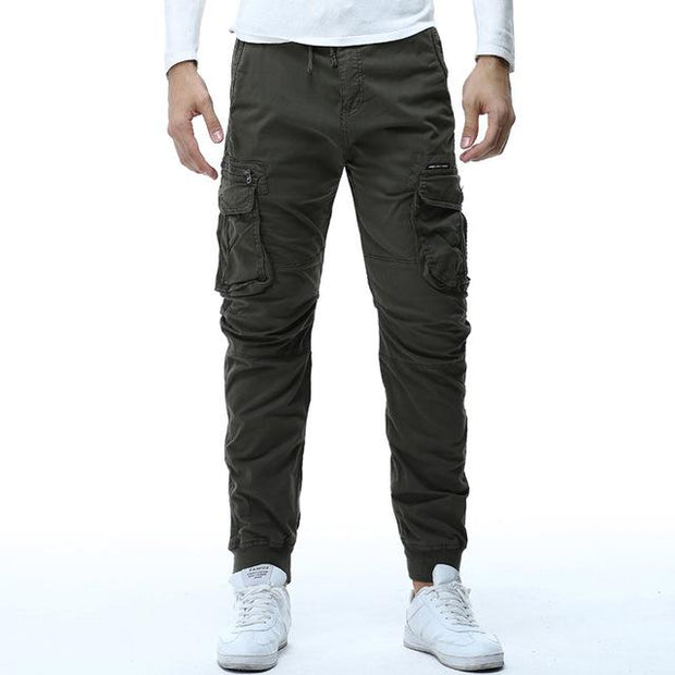 West Louis™ Tactical Cargo Ribbon Pants Green / 29 - West Louis
