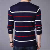 West Louis™ O-Neck Pullover Sweater  - West Louis