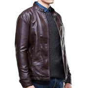 West Louis™ Top Quality PU Leather Jacket  - West Louis