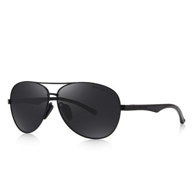 West Louis™ Pilot  HD Polarized Sunglasses Black - West Louis