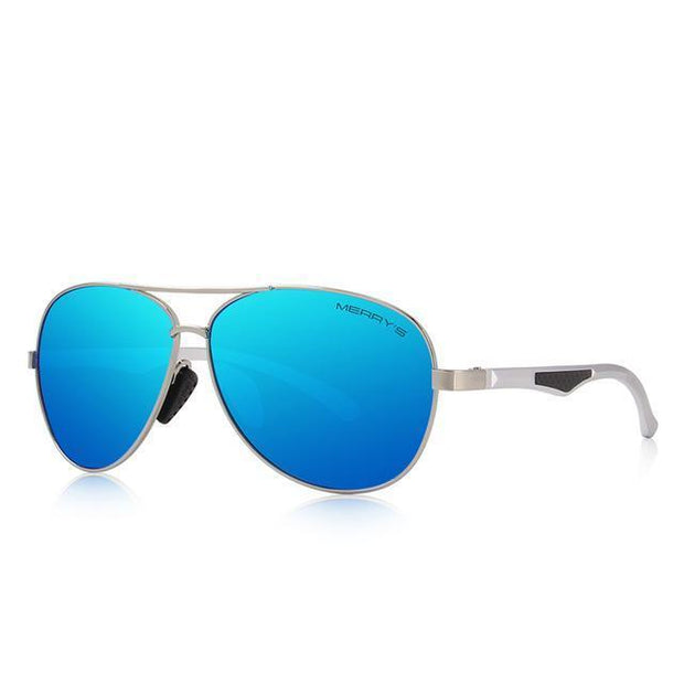 West Louis™ Pilot  HD Polarized Sunglasses Blue - West Louis