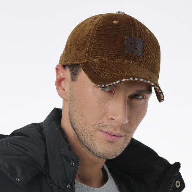 West Louis™ Cotton Baseball Cap Army green - West Louis