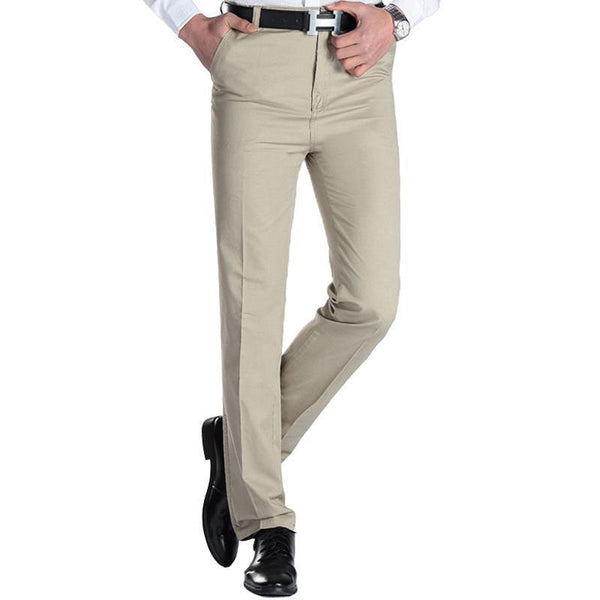 West Louis™ Business Casual Leisure Long Trousers  - West Louis